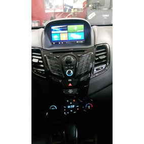 Central Multimidia Aikon Ford New Fiesta Sedan Mexicano 2014