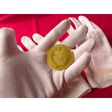 Guantes 100 % Algodon Blanco Americanos Monedas Oro Plata