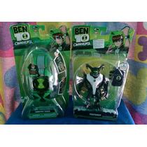 Set Reloj Ben 10 + Aliens Originales Nuevo!