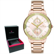 Relógio Technos Feminino Original C/garantia E Nf 6p73ae/1t