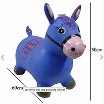 Cavalo De Borracha Brinquedo Upa Up Pula Pula