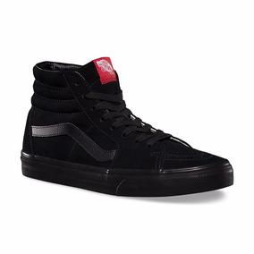 vans negras bota