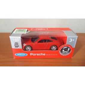 Replica Porsche 911 Carrera S (rojo) 1/60 Welly