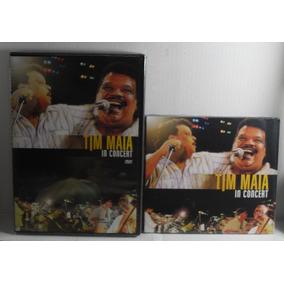Kit Dvd + Cd Tim Maia In Concert Lacrado Fabrica - Funk Soul