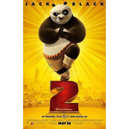 Poster Original Cine Kung Fu Panda 2 ( Dreamworks)