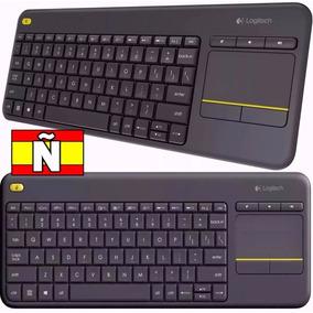 Teclado Logitech Wireles Touch Pad Keyboard K400 Plus