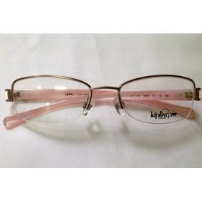 Armação De Óculos De Grau Kipling Kp1079 Pink