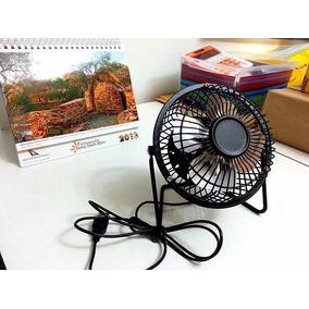 Ventilador Usb Em Metal Cooler Portatil Notebook Netbook Pc