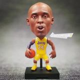 Mini Craque Nba Kobe Bryant Com Camisa Los Angeles Lakers