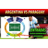Entradas Argentina Vs Paraguay Platea Gasparini 11/10/16