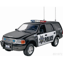 Revell Ford Expedition Police Ssv 1/25 Armar Predecorado