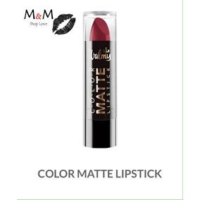 Labial Matte Lipstick Valmy