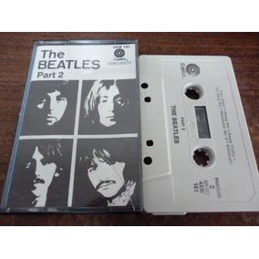 The Beatles Album Blanco Parte 2 Cassette Americano