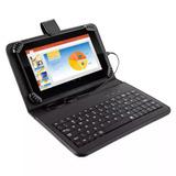 Tablet 7´´ Quadcore 8gb Android 4.4 Wi-fi Capa C/ Teclado &+