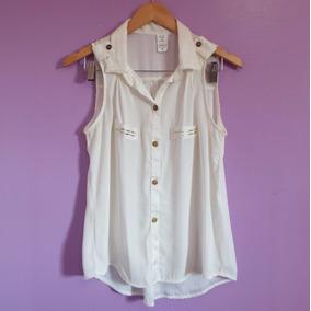Camisa/colete Sem Mangas Off-white