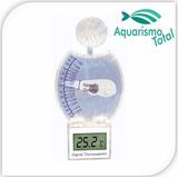 Densímetro C Termômetro Digital Aleas Hr-05 Aquário Marinho
