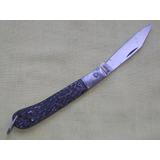 Antigo Canivete Corneta Aço Carbono 19.8 Cm Sem Nenhum Uso