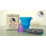 Copa Menstrual +vaso De Limpieza + Envío Gratis En Colombia
