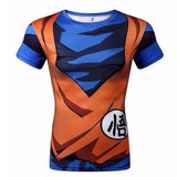 Dragon Ball Camisa Goku Camiseta Manga Curta
