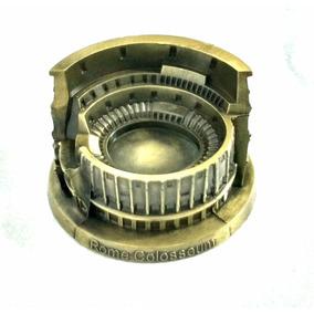 Coliseo Romano Souvenir Roma Italia Escala Metal Envio Grati