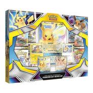 Box Pokemon Coleção Especial Pikachu E Eevee Gx Copag