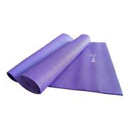 Colchoneta Mat Yoga 4 Mm Pilates Enrollable Matt Importado Pvc Fitness Sport Gym