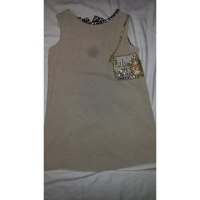 Vestido Epk - Talla 6 Color Beige Para Niña