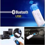 Receptor Bluetooth Usb Para Auto Radio Equipo Sonido