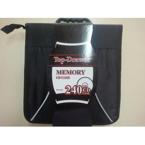 Porta Cd Maletin Top Drawer 240 Pcs