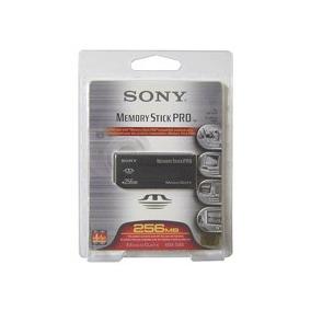 Cartão De Memória Memory Stick Pro Sony 256mb-magicgate30032