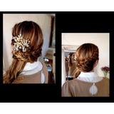 Maquilladora Profesional Novias 15 Años Madrinas Peinados