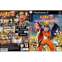 Jogo - Naruto Ultimate Ninja Trilogy - Playstation 2