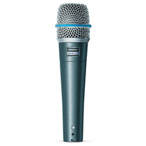 Microfone Dinamico Com Fio Shure Beta 57 A - Oferta 12x