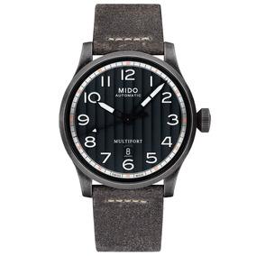 Reloj Mido Multifort Automático Date M0326073605000 De Piel