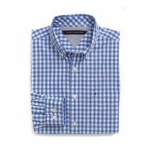 Frete Gratis- Camisa Social ( Blusao) Da Tommy Hilfiger- G