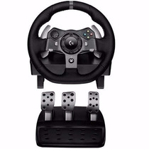 Volante Logitech G920 Pedalera Xbox One Pc Profesional Fuent