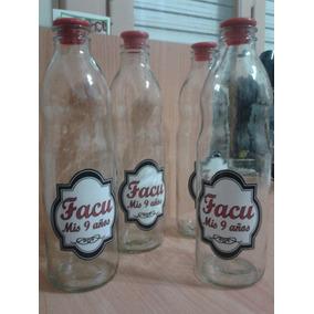 Botellas De Vidrio Personalizadas - Souvenirs