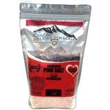 Sal Rosa Do Himalaia Comestível 1000g Importado Pink Salt