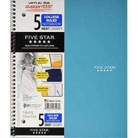 Cuadernos Mead Five Star En Mercado Libre M 233 Xico