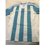 Camisa adidas Argentina Home 2015 - Tamanho M - Original