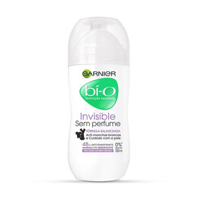 Desodorante Bí-o Garnier Invisible Sem Perfume Roll On 50ml