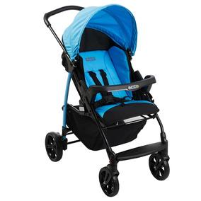 Carrinho De Bebê Ecco Azul Reclinável - Burigotto