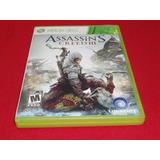 * Longaniza Games * Xbox 360 Assassins Creed 3