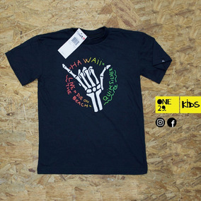 Camiseta Niño Quiksilver, Billabong Mayor Y Detal
