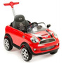 Montable Guiado Push Car Mini Cooper Rojo Prinsel
