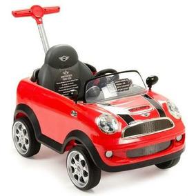 Montable Guiado Push Car Mini Cooper Rojo Prinsel