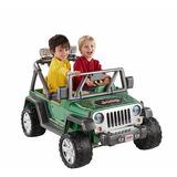 Carro Eléctrico Juguete Niño Power Wheels Deluxe Jeep