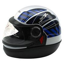 Capacete Moto San Marino Modelo Novo Viseira 2mm -taurus-