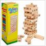 Torre Tipo Jenga Madera Bloques 48 Pz Dados 6215 Juego