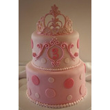 Tortas Princesas Primer Año Nena -- Pedidos Express!